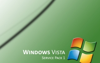 Vista SP1 green wallpapers and stock photos