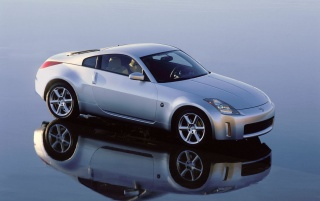 350Z reflection wallpapers and stock photos
