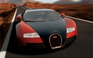 Next: Veyron up front