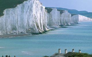 Seven Sisters Cliffs wallpapers and stock photos