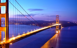 Random: Golden Gate lights
