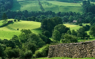 Hills of Troutbeck wallpapers and stock photos