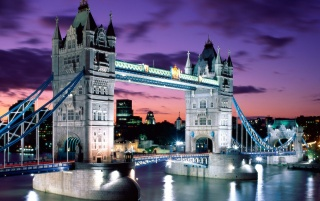 London evening wallpapers and stock photos
