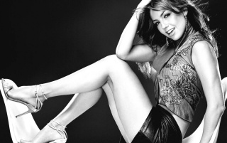 Thalia grayscale wallpapers and stock photos