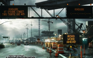 NFS road signs wallpapers and stock photos