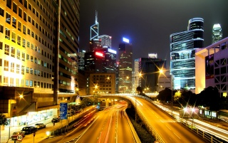 Wanchai China wallpapers and stock photos