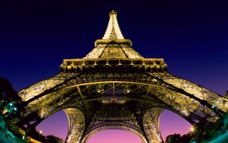Eiffel lower view wallpapers and stock photos
