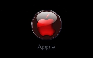 Red Apple logo wallpapers and stock photos