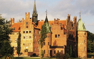 Egeskov Castle wallpapers and stock photos