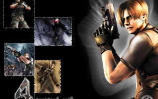 Resident Evil 4_2 wallpapers and stock photos