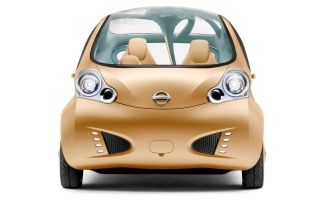 Nissan Nuvu front wallpapers and stock photos