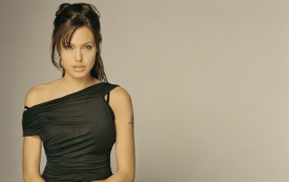 Random: Angelina in blouse