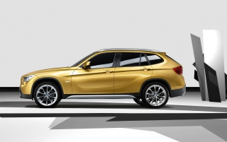 Random: BMW X1 side view