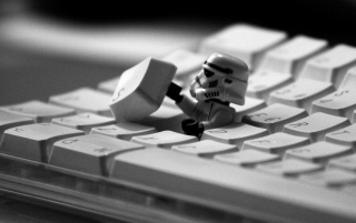 Storm Trooper Escape wallpapers and stock photos