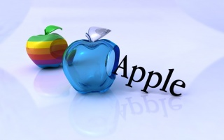 Glass Apple wallpapers and stock photos
