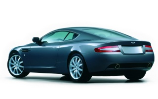 DB9 from behind wallpapers and stock photos