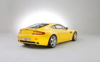 V8 Vantage back wallpapers and stock photos