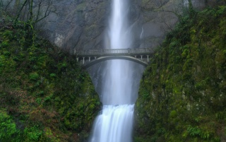 Multnomah falls wallpapers and stock photos