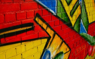 Graffiti pe perete wallpapers and stock photos