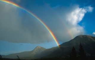 Kootenay rainbow wallpapers and stock photos