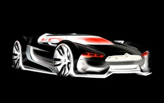 GT concept sketch (inverted) wallpapers and stock photos