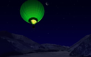 Green balloon wallpapers and stock photos