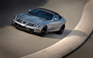 SLR front angle wallpapers and stock photos
