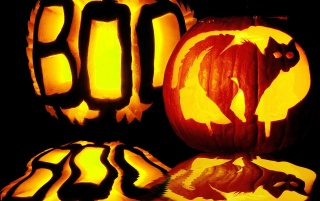 Boo Halloween wallpapers and stock photos