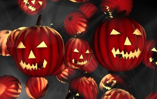Red pumpkins wallpapers and stock photos