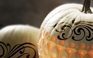 Tattoo on pumpkins wallpapers and stock photos