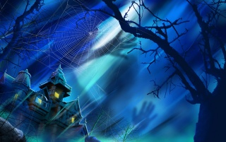 Haunted mansion wallpapers and stock photos