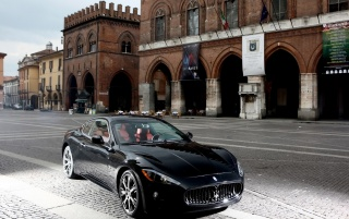 Maserati GT angle wallpapers and stock photos