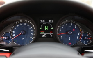 Maserati GT gauges wallpapers and stock photos
