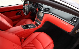Maserati GT interior wallpapers and stock photos