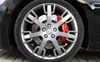 Maserati GT wheel wallpapers and stock photos
