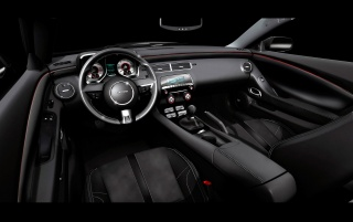 Camaro black interior wallpapers and stock photos