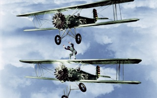 Biplane daredevils wallpapers and stock photos