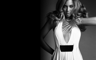 Beyonce white dress wallpapers and stock photos