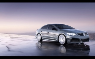 VW CC Eco front wallpapers and stock photos