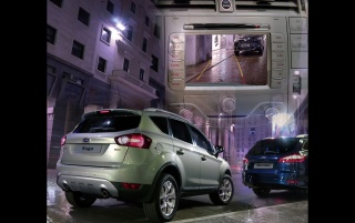 Parking Kuga wallpapers and stock photos