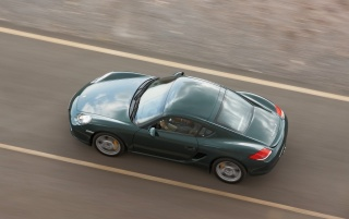 Random: Cayman S top view