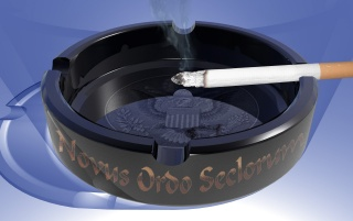 Random: Cigarette in ashtray