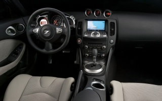 Nissan 370Z dash wallpapers and stock photos