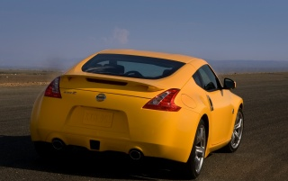 370Z rear view wallpapers and stock photos