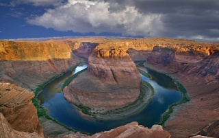 Horseshoe Bend wallpapers and stock photos