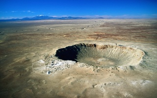Previous: Meteor crater