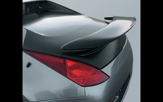 Strosek 350Z wing wallpapers and stock photos