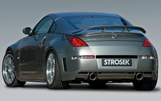 Strosek 350Z rear wallpapers and stock photos
