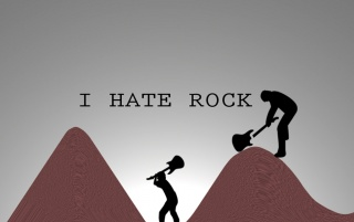 I Hate Rock wallpapers and stock photos