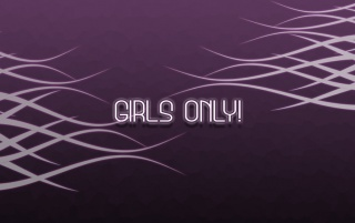 Girls only wallpapers and stock photos